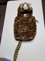 Infant tiger pullover costume in Houston, Texas