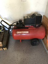 Craftsman 5.5 HP 30 gal air compressor in Lockport, Illinois