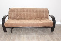 Futon with mattress included in Houston, Texas