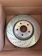 Brembo drilled rear rotors for 2004 Infinti G35 coupe 6MT (35630) in Tacoma, Washington