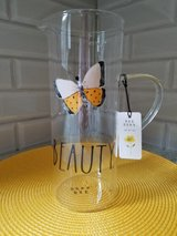 "NEW Rae Dunn ""Beauty"" Glass Pitcher in Bolingbrook, Illinois"