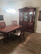 Dining Room Table and Hutch in Houston, Texas
