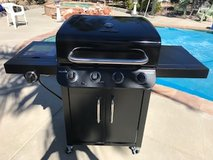 Brand New ..CHAR-BROIL 4 BURNER GAS GRILL - ALL BLACK Top Quality Bbq Yard Garden Patio in Camp Pendleton, California
