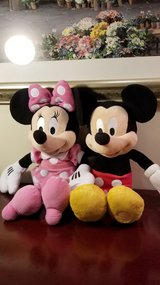 Minnie and Mickey Mouse in Westmont, Illinois