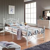 WHITE TWIN BED FRAME in Vacaville, California