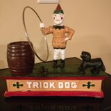 cast iron toy bank dog in Orland Park, Illinois