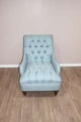 Tufted Chair- Lucia Mist in Spring, Texas