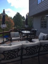 Patio Cast Aluminum by Hanamint 11 piece set in Glendale Heights, Illinois