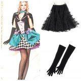 Mad Hatter Halloween Costume Adult S/M 6-8 in Cherry Point, North Carolina