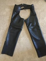 LEATHER CHAPS SIZE ADULT XL in Plainfield, Illinois