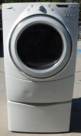 FRONT LOAD WHIRLPOOL DUET ELECTRIC DRYER in Oceanside, California