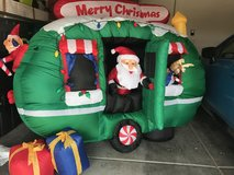 6 foot Inflatable Santa in RV in Las Vegas, Nevada