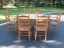 Table/Leaf/Chairs in Bolingbrook, Illinois