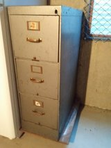 Older 3 drawer file cabinet in Plainfield, Illinois