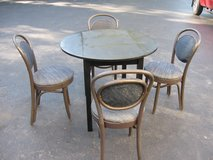 Table/Ice Cream Parlor Chairs in Joliet, Illinois