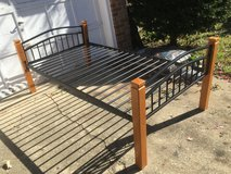 Maple & Steel Twin Bed in Bolingbrook, Illinois