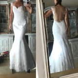 Marine Corps Ball/Wedding Gown and Shoes in Oceanside, California