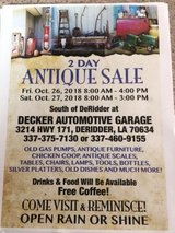 Antiques - by owner in DeRidder, Louisiana