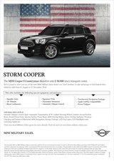 2019 - MINI Cooper S Countryman ALL4 – PROMOTION in Spangdahlem, Germany