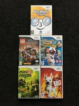Wii Games bundle in Lakenheath, UK