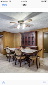 Marble top table, Hutch, China cabinet in Pasadena, Texas