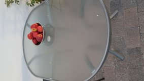 Great Nice Patio Glass Table in Ramstein, Germany