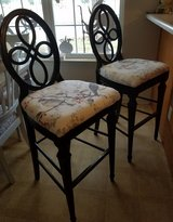 2 barstool chairs in Fort Rucker, Alabama