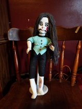 Hand painted doll scary girl $100.00 obo in Camp Lejeune, North Carolina