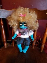Another scary girl looking for a home hand painted ooak in Camp Lejeune, North Carolina