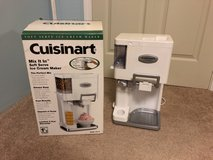 Cuisinart Soft Serve Ice Cream Maker in Aurora, Illinois