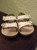 Baby Girl Saltwater Sandals Size 2 in Travis AFB, California