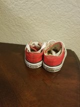 Baby Unisex Red Converse Size 2 in Travis AFB, California
