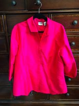 Chico's Size 3 Silk Top - Blouse - Jacket in Spring, Texas