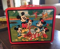Mickey Mouse Lunch Tin in Aurora, Illinois