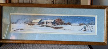 Winter on the Farm in Westmont, Illinois