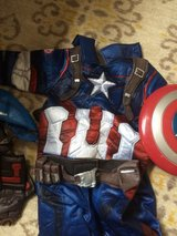 Captain America costume in Camp Pendleton, California