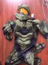 Halo Halloween costume in Camp Pendleton, California