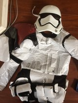 Clone trooper Star Wars costume in Camp Pendleton, California