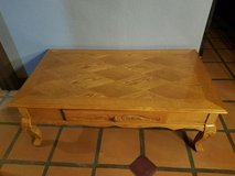 Oak Coffee table with drawer in Yucca Valley, California