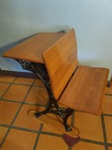 Antique school desk in superb condition in Yucca Valley, California