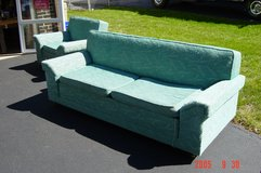 1960 Matching Couch bed and Chair in Orland Park, Illinois