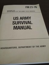 US Army Survival Manual in Byron, Georgia