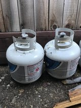 Propane tanks in Vacaville, California