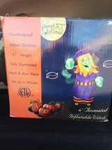 Halloween inflatable witch 6ft new in Elgin, Illinois