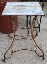 REDUCED Table stand metal in 29 Palms, California