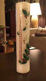 Advent Candle in St. Charles, Illinois