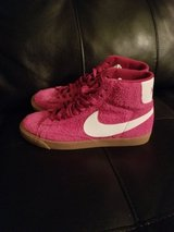 Brand New Womens Fushia Hightop Nikes in Travis AFB, California