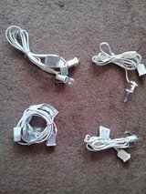 4 White Cord Wiring for Lighting with Bulbs in Orland Park, Illinois