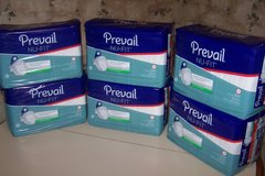 Adult Diapers 6 packages size medium. in Joliet, Illinois