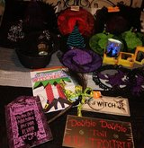Witch decors in The Woodlands, Texas